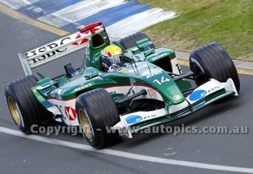 203503 - Mark Webber  Jaguar-Cosworth -  Australian Grand Prix  Albert Park 2003 - Photographer Marshall Cass