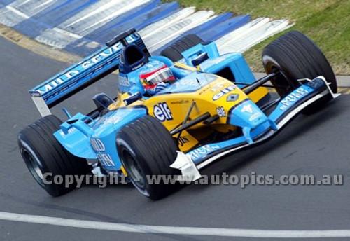 203504 - Fernando Alonso, Renault -  Australian Grand Prix  Albert Park 2003 - Photographer Marshall Cass
