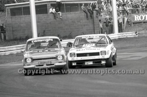 79074 - R. Cartwright, Ford Escort - Sandown Hang Ten 400 9th September 1979 - Photographer Darren House