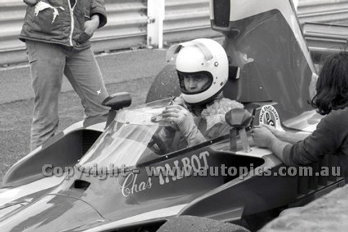 79641 - Chas Talbot, Lola T332c - Sandown 9th September 1979 - Photographer Darren House