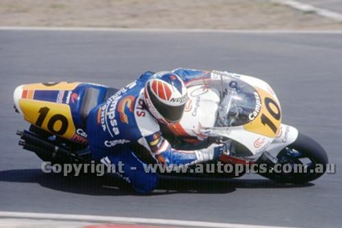 91311 - Sito Pons, Honda - 500cc Australian Gran Prix  Eastern Creek 1991 - Photographer Ray Simpson
