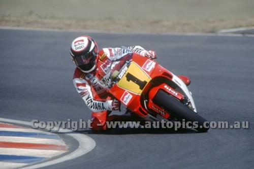 91314 - Wayne Rainey, Yamaha - 500cc Australian Gran Prix  Eastern Creek 1991 - Photographer Ray Simpson
