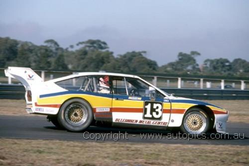 87039  -   E. Jones, Alfa Romeo - Sandown 1987  - Photographer Ray Simpson
