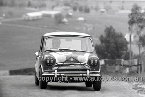 66741  -   R. Aalten / Bob Holden Outright and Class C Winners Morris Cooper S - Bathurst 1966 - Photographer Lance J Ruting