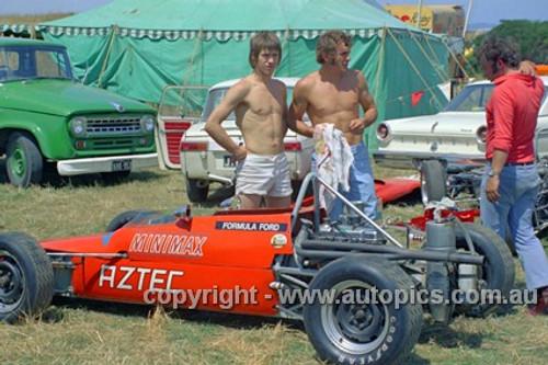 72523 - Paul Feltham, Aztec Formula Ford - Phillip Island 1972- Photographer Peter D'Abbs
