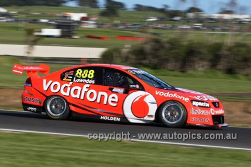 12001 - Craig Lowndes - Holden Commodore VE2 -  Phillip Island 2012  - Photographer Craig Clifford
