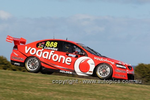12002 - Craig Lowndes - Holden Commodore VE2 -  Phillip Island 2012  - Photographer Craig Clifford