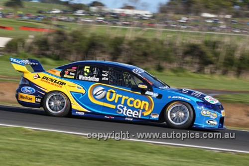 12003 - Mark Winterbottom, Falcon FG -  Phillip Island 2012  - Photographer Craig Clifford