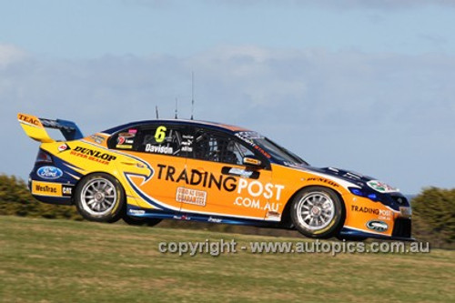 12005 - Will Davison, Falcon FG -  Phillip Island 2012  - Photographer Craig Clifford