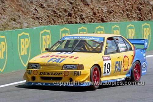 94747  -  Dick Johnson  - Falcon EB -  In the number 19 car - Bathurst 1994 - Photographer Marshall Cass