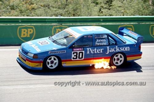 94748  -  Alan Jones & David Parsons  - Falcon EB  - Bathurst 1994 -  Photographer Marshall Cass