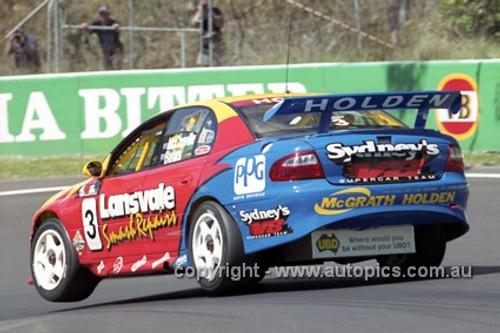 01731 - C. McConville & R. Bates, Holden Commodore VX - Bathurst 2001 - Photographer  Marshall Cass