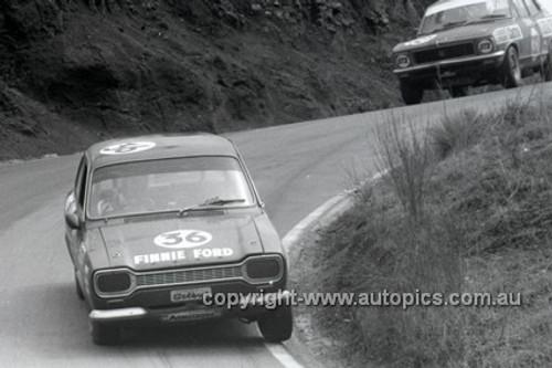 72786 - B. Steon & H. Taylor, Ford Escort T/C - Bathurst 1972- Photographer Lance J Ruting