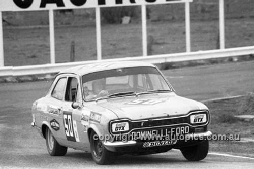 72801 - H. Vines & C. Batger, Ford Escort T/C - Bathurst 1972- Photographer Lance J Ruting