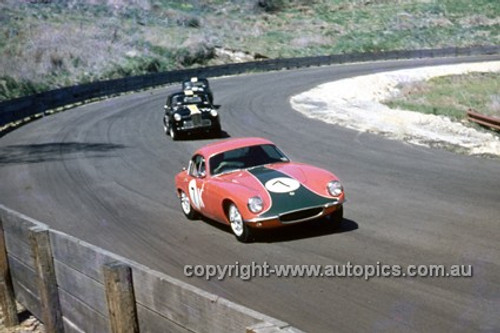 620061 - Brian Foley, Lotus Elite - Catalina Park Katoomba  1962 - Photographer Bruce Wells.