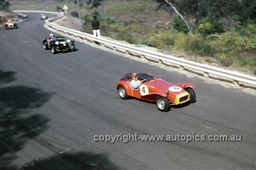 620068 -  W. March, Lotus 7 - Catalina Park Katoomba  1962 - Photographer Bruce Wells.