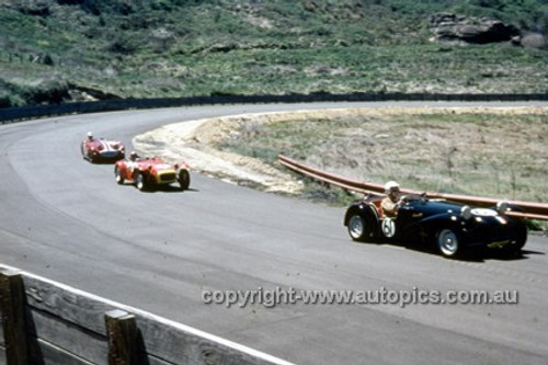 620071 - Lorraine Hill, Lotus 7 - Catalina Park Katoomba  1962 - Photographer Bruce Wells.