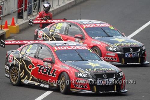 12721 - G. Tander / N. Percat & J. Courtney / C. McConville, Holden Commodore VE2 - Bathurst 1000 -  2012  - Photographer Tony Rutledge