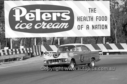 62118 - Bob Holden, Holden FB - Sandown 1962 - Photographer Peter D'Abbs