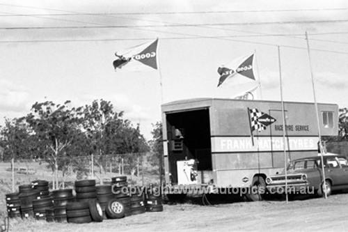 70380 - Frank Matich Racing Tyre Service - Oran Park 1970 - Photographer Lance J Ruting