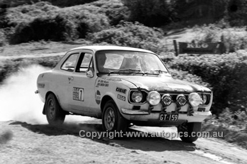 72919 - Bob Holden, Ford Escort - KLG Rally 1972 - Photographer Lance J Ruting