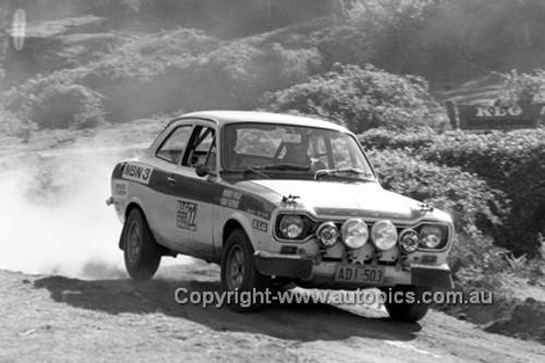 72926 - Murray Finlay, Ford Escort - KLG Rally 1972 - Photographer Lance J Ruting