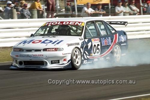 97011 - Peter Brock, Commodore VS - Lakeside 1997 - Photographer Marshall Cass