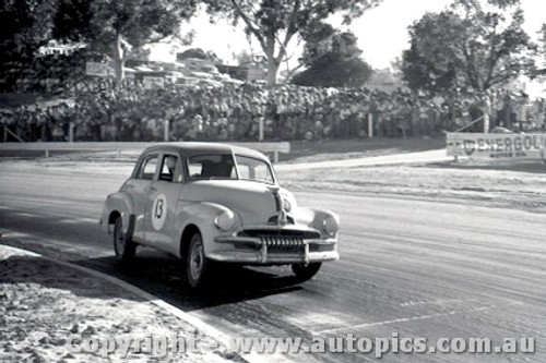 Bob Holden   Holden FJ  - Hume Weir - 13th March 1961 - Photographer Peter DAbbs