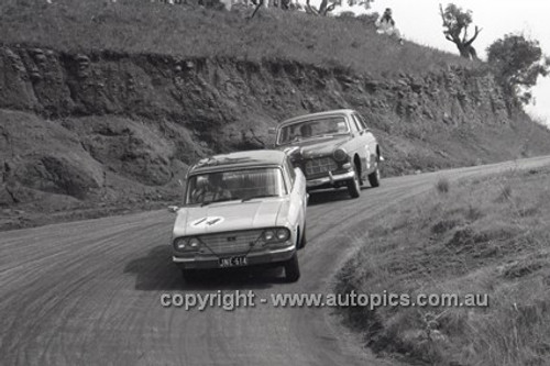 66761  - B. Buckle & A. Mottram, Toyota Crown - Gallaher 500 Bathurst 1966 - Photographer Lance J Ruting