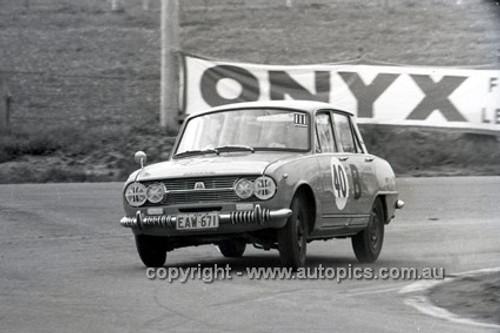 66771  - Colin Bond & Arthur Treloar, Isuzu Bellett - Gallaher 500 Bathurst 1966 - Photographer Lance J Ruting