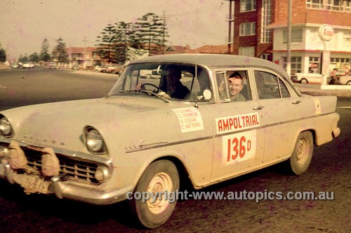 64975 - 1964 Ampol Trial - B. Sloane, Holden FB - Photographer Ian Thorn