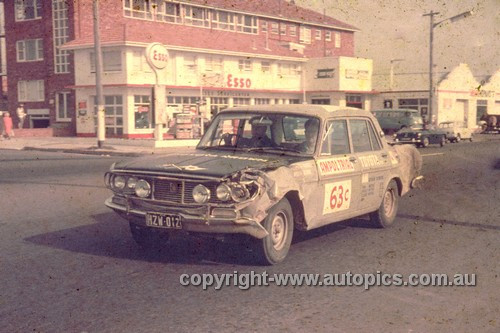 64978 - Geoff Russell & Ron Burns - 1964 Ampol Trial - Toyota Crown - Photographer Ian Thorn