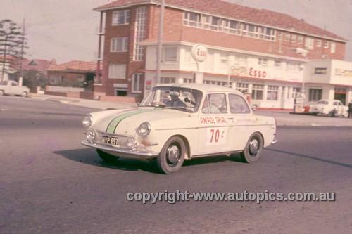 64983 - G. Hood & P. Crea - 1964 Ampol Trial - Volkswagen - Photographer Ian Thorn