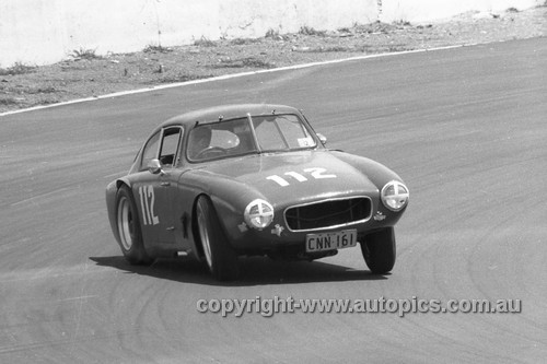 65489 - G. Blackburn, Gordini Fiat - Oran Park 1965 - Photographer  Bruce Wells