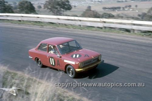 67770 - Barry Ferguson & Brian Sampson Toyota Corolla  - Gallaher 500 Bathurst 1967 - Photographer Geoff Arthur