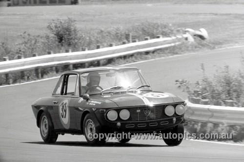 68242 - Graeme Ward Lancia Fulvia - Warwick Farm 1968 - Photographer David Blanch