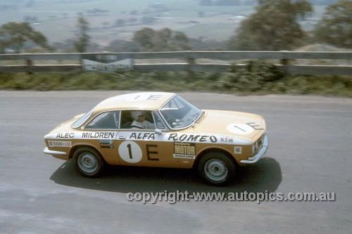68767  -  Kevin Bartlett / Doug Chivas Alfa Romeo 1750 GTV -  Hardie Ferodo 500 Bathurst 1968 - Photographer Geoff Arthur