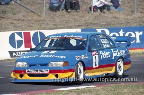 94751  -  Glenn  Seton &  Paul Radisich  Falcon  EB  - Tooheys 1000 Bathurst 1994 - Photographer Marshall Cass