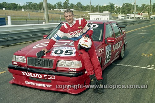 96029 - Peter Brock - Volvo 850 - Lakeside 1996 - Photographer Marshall Cass