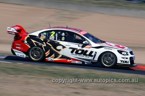 13708 - G. Tander / N. Percat  Holden Commodore VF - Bathurst 1000 - 2013  - Photographer Craig Clifford