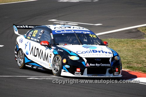 13730 - T. Blanchard / A. Walsh  Ford Falcon FG - Bathurst 1000 - 2013 - Photographer Craig Clifford