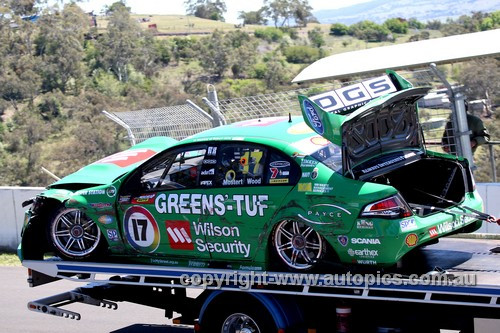 13742 - C. Mostert / D. Wood   Ford Falcon FG - Bathurst 1000 - 2013 - Photographer Craig Clifford