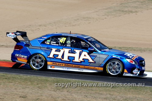 13751 - T. Slade / A. Thompson Mercedes E63 AMG - Bathurst 1000 - 2013 - Photographer Craig Clifford