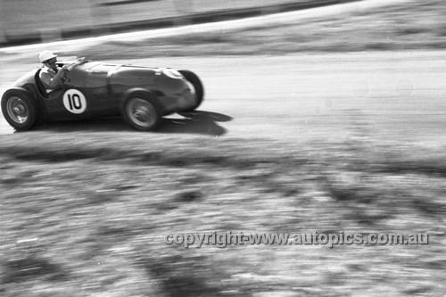 52510 - Curley Brydon, MG Special S/C - Parramatta Park 9th June 1952 - Photographer John Ryan