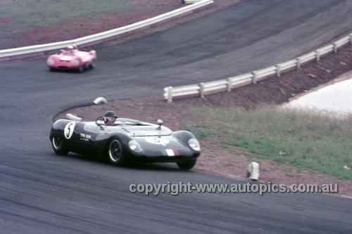63419 - Leo Geoghegan, Lotus 23  - Oran Park 1963 - Anne Blackwood Collection