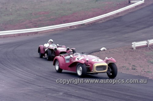 63420 - W. March, Lotus 7 - Oran Park 1963 - Anne Blackwood Collection