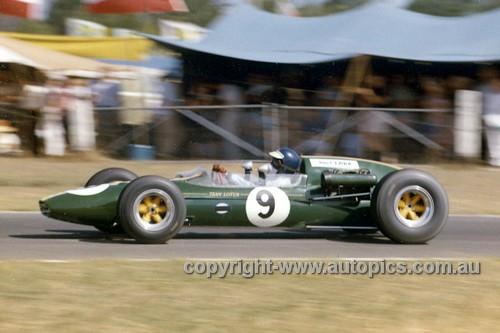 65563 - Jim Clark, Lotus 32 Climax - Tasman Series   Warwick Farm 1965