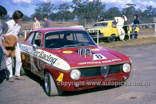 72283 - Brian Foley, Alfa Romeo V8 - Oran Park 1972 - Photographer Ken Thomas
