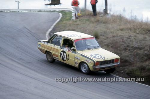 72854 - John Leffler Mazda 1300 - Hardie Ferodo 500 Bathurst 1972