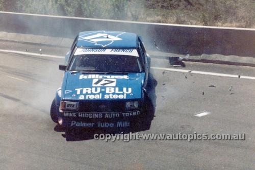 80868  -  Dick Johnson & John French, Ford  Falcon XD -  Bathurst  1980 - 'The Rock'
